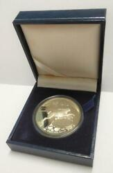 Singapore 925 Silver Proof Coin Bank Of Lao Rabbit 1999 W/ Cert And Box Oc411