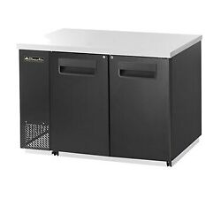 Blue Air Bbb59-2s-hc 59 Two Solid Door Back Bar Cooler Stainless Steel
