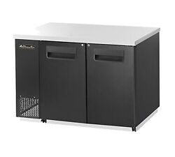Blue Air Bbb59-2s-hc 59 Two Solid Door Back Bar Cooler, Stainless Steel