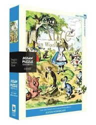 Victorian Trading Co New York Puzzle Alice In Wonderland 1000 Pc Jigsaw Puzzle