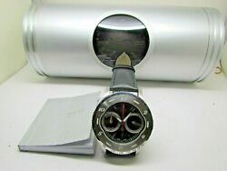 A Dunhill Wheel Watch Chronograph Limited Edition 0784/1500 W/box And Paper Mint