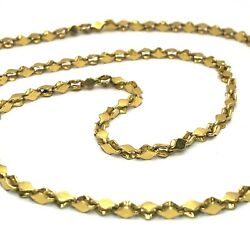 Cjl Preowned 32.7g 22k Yellow Gold 24 Handmade Chain Necklace