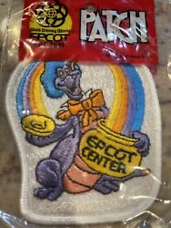 Vintage Disney Embroidered Character Patch Epcot Center Figment And Donald