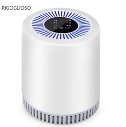 Rigoglioso Air Purifier And Cleaner 110-240v Hepa Carbon For Homeandcar