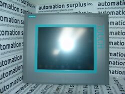 Siemens 6av6-643-0cd01-1ax0 Simatic Multi Panel Touch Tested Wow Read
