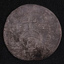 German States Wurttemberg 1572 157z 2 Kreuzer Ludwig The Pious World Silver Coin