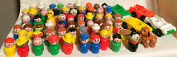 You Choose Vintage Fisher Price Little People 60+ Different Figures Sesame St+