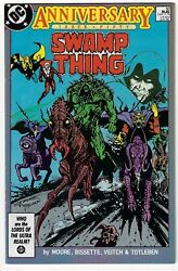 Swamp Thing 50 Anniversary Issue Very Fine Condition