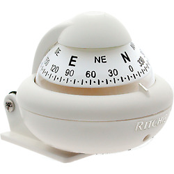 Ritchie Compasses X-10w-m Compass Bracket Mount 2 Dial White