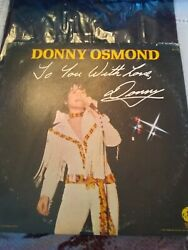 Donny Osmond, To You With Love, Vinyl Record 1971