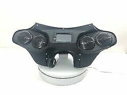 Harley Davidson Double Din Fairing Softail Deluxe Classic 5.25 Stereo