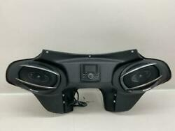 94-20 Harley Davidson Double Din Fairing Roadking 6x9 Stereo Batwing
