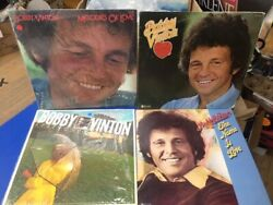 Bobby Vinton 4 Lot - Spring Sensations, Heart, Name Is Love, Melodies Of Love