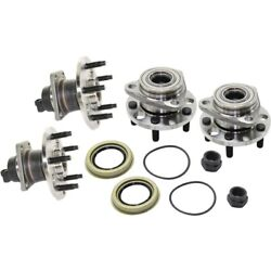 Set Of 4 Wheel Hubs Front And Rear Left-and-right For Chevy Olds Cutlass Lh Rh