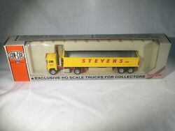 Vintage Herpa Con-cor Construction Tractor And Dump Trailer Truck Nib Mint Vy Rare