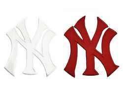 New York Yankee#x27;s NY World Series MLB Baseball Fully Embroidered Iron On Patch