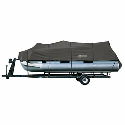 Classic Accessories Stormpro Trailerable Pontoon Boat Cover 21-24and039