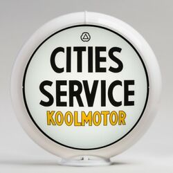 Cities Service Koolmotor 13.5 Gas Pump Globe G115 Free Shipping - U.s. Only