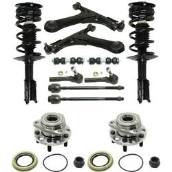 Set Of 12 Control Arm Ball Joint Suspension Kit Front Left-and-right For Chevy