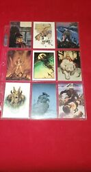 W. Stout Saurians And Sorcerers Mixed Lot Trading Cards 9 1996