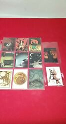W. Stout Saurians And Sorcerers Mixed Lot Trading Cards 11 1996