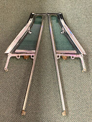 1960, 1961, 1962, 1963, 1964 Chrysler Wing Vent Assembly, Solex Glass, One Pair