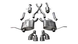 Corsa Performance 14992 Sport Cat-back Exhaust System Fits 14-19 Grand Cherokee