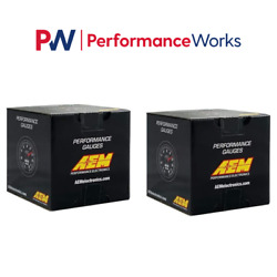 Aem Uego 4.9lsu Wideband Air Fuel Ratio And Oil Pressure And 2 Gauges Combo Set