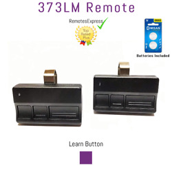373lm Liftmaster Garage Door Remote Opener 315mhz Purple Learn Button 2-pack