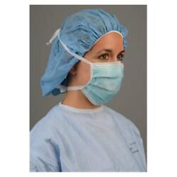 Box Of 50 New Level 3 Cardinal Tie Type Surgical Face Masks Anti-fog Latex-free