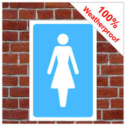 Ladies Toilet Symbol Sign Inf01 Toilet, Restroom And Changing Room Notices