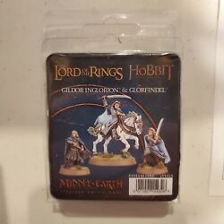 Middle Earth Strategy Battle Game Gildor Inglorion And Glorfindel Gw Metal Nib