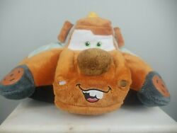 Disney Cars Tow Mater Pillow pets Large18#x27; Folding Stuffed PlushToy Multi color