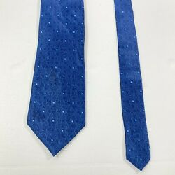 Lanvin Tie Made In France Recent Designer 100 Silk Patterned Classic Tie