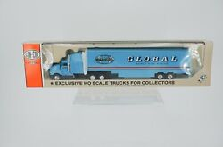 Vintage Con-cor Global Moving Kentworth Semi Tractor Trailer 187 Scale Truck