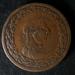 Overstruck Lc-47d6 Penny Token On A We-4a Wellington Lower Canada Breton 959