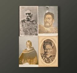 Maori Antique / Vintage Post Cards Lot Of 12 Original And Ancient Post Cards Nzl E