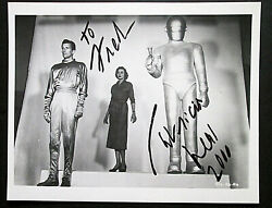 Patricia Neal The Day The Earth Stood Still Orig, Hand Sign Autograph Photo