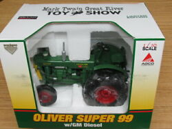 Speccast 1/16 Oliver Super 99 With Gm Diesel Le Tractor