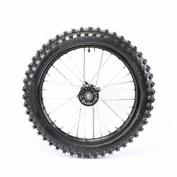 17 70/100-17 Front Wheel Tire And Rim Assembly For Dirt Pit Bike 125cc Taotao Ssr