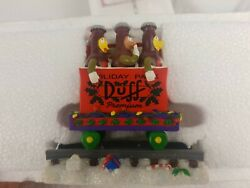 The Simpsons Christmas Express Train Packing Up For Christmas Duff Beer 2808