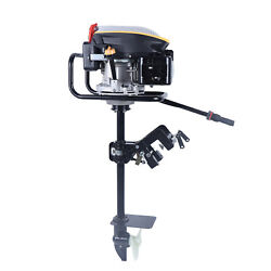 4 Stroke 9 Hp Outboard Motor Fishing Boat Engine Air Cooling System Complete