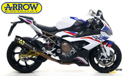 Full Exhaust System Arrow Competition Carbon End Carbon Bmw S 1000 Rr 19 21