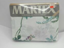 Vintage Martex Lasalle Ii No Iron Percale Full Flat Bed Sheet Mint Never Used