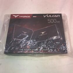 Team Group T-force Vulcan Solid State Drive 500 Gb Internal 2.5 T253tv500g3c301