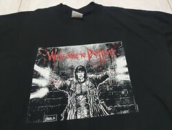 James O'barr The Crow Welcome To Detroit Horror Movie Vintage T Shirt Xl