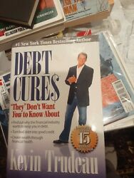 Debt Cures They Don't Want You To Know About By Kevin Trudeau 2008, Hardcove…