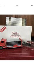 Danbury Mint 1938 Coca Cola Delivery Truck 124 W/box Beautiful 100 Complete
