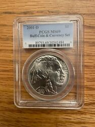 2001 D Buffalo-from Rare Coin And Currency Set Pcgs Ms69
