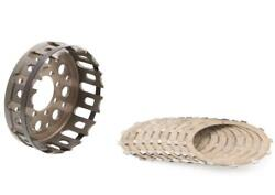 Kit Clutch Housing And Conductive Discs Cnc Racing Ducati Monster 900